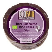 Biofair Org Dark Choc Rice Cakes 50g
