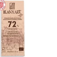 Blanxart 72% Dominica Dark with Almonds 150g
