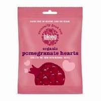 Biona Organic Pomegranate Hearts 75g