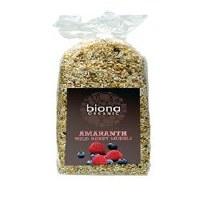 Biona Org Amaranth Wild Berry Muesli 500g