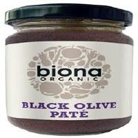 Biona Organic Black Olive Pate 1x120g