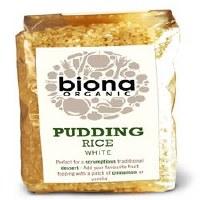 Biona Org Pudding Rice 500g