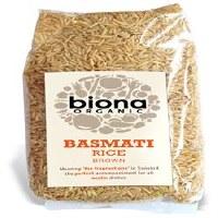 Biona Org Brown Basmati Rice 500g