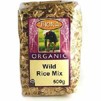 Biona Org Wild Rice Mix 500g