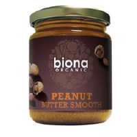 Biona Org Smooth Peanut Butter N/sal 250g