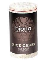 Biona Org No Salt Rice Cakes 100g