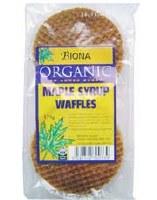 Biona Organic Maple Syrup Waffles 175g