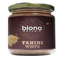 Biona Org Tahini White no Salt 170g