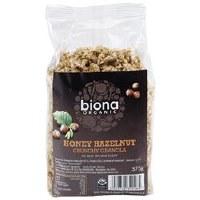 Biona Organic Honey Hazel Crunchy 375g