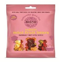 Biona Organic Mini Fruit Bears 75g