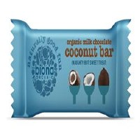 Biona Org Milk Choc Coconut Bar 40g