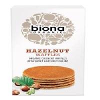 Biona Organic Hazelnut Waffles 175g