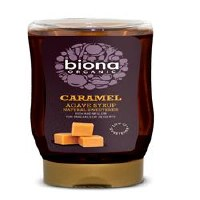 Biona Org Caramel Agave Syrup 350g