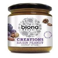 Biona Organic Raisin Peanut Spread 250g