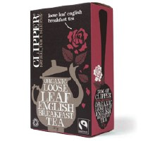 Clipper Organic English Breakfast Tea 125g