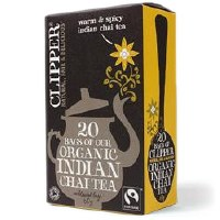 Clipper Fairtrade Organic Indian Chai 20bag