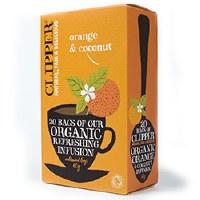 Clipper Organic Orange & Coconut 20bag