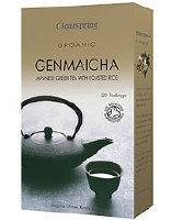 Clearspring Organic Green Tea Genmaicha 40g
