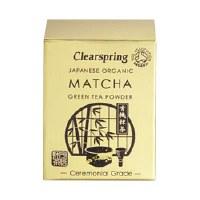 Clearspring Org Matcha Green tea (tin) 30g