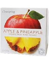 Clearspring Fruit Puree Apple/Pineapple 2 X 100g