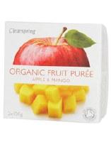 Clearspring Fruit Puree Apple/Mango 2 X 100g