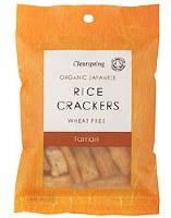 Clearspring Org Rice Crackers Tamari 50g