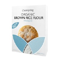 Clearspring Org GF Brown Rice Flour 375g