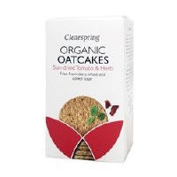 Clearspring Org Oatcakes Tomato & Herb 200g