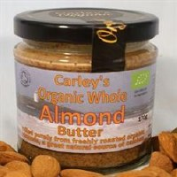 Carley's Org Almond Butter 170g