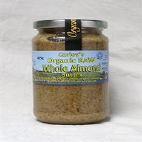 Carley's Organic Raw Almond Butter 425g