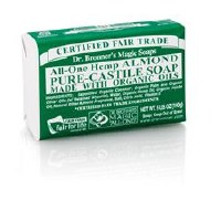 Dr Bronner Org Almond Soap Bar 140g