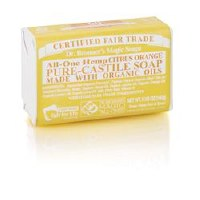 Dr Bronner Org Citrus Soap Bar 140g