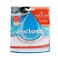 E-Cloth Antibacterial Wash & Wipe Cl 2unit