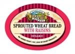 Everfresh Natural Foods Org Sprout Wheat Raisin Bread 400g