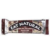 Eat Natural Dark 70% Choc Brazil & Apricot 45g