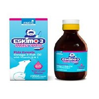 Eskimo Eskimo-3 Fish Oil Little Cubs 210ml
