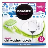 Ecozone Classic Dishwasher Tablets 25 tablet