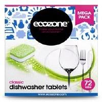 Ecozone Classic Dishwasher Tablets 72 tablet