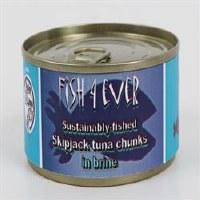 Fish4Ever Skipjack Tuna Chunks in Brine 1x160g