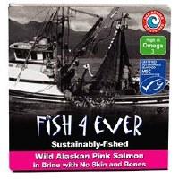 Fish 4 Ever Wild Alaskan Pink Salmon 160g