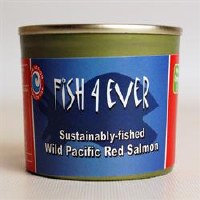 Fish 4 Ever Wild Pacific Red Salmon 1x213g