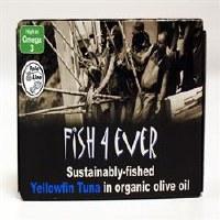 Fish4Ever Yellowfin Tuna in OrgOlive Oil 1x120g