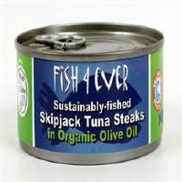 Fish4Ever Tuna Steaks in Olive Oil 1x160g