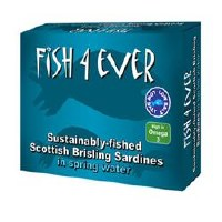 Fish4Ever Wild Sprats in Spring Water 1x105g