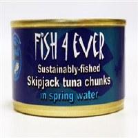 Fish4Ever Skipjack Tuna Chunks in Spring 1x160g