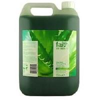 Faith in Nature Aloe Vera Foam Shower Gel BULK 5l
