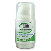 Faith in Nature Roll On Deo Aloe V & Green Tea 50ml