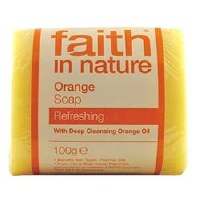 Faith in Nature Orange Pure Veg Soap 100g