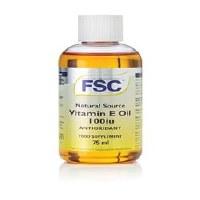 FSC Vitamin E Oil Liquid 100iu 75ml
