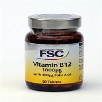 FSC Vitamin B12 1000ug 30 tablet